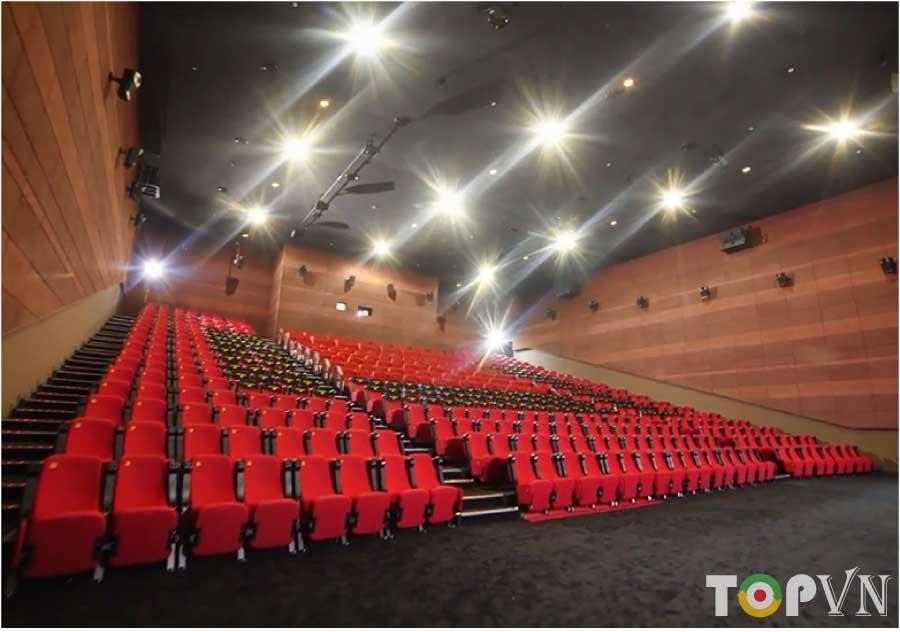 TOP 10 rạp chiếu phim hiện đại, chất lượng nhất tại Hà Nội